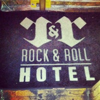 Photo taken at Rock & Roll Hotel by Toby O. on 6/8/2012