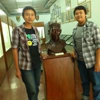Photo taken at MUSEUM PERJUANGAN TRI DAYA EKA DHARMA by Wicaksana S. on 8/21/2012