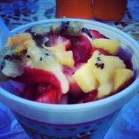 Photo taken at Sweet Frog Frozen Yogurt by James Davalos on 9/9/2012