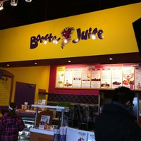 Photo taken at Booster Juice by Mia on 2/26/2012