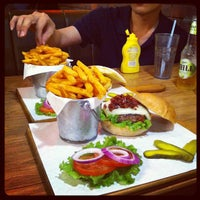 Photo taken at 1885 Burger Store by Gary W. on 3/22/2012