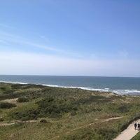 Photo taken at Strand Egmond Aan Zee by Roger v. on 5/17/2012