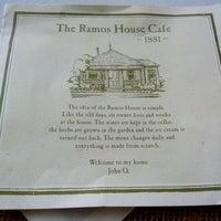 Photo taken at Ramos House Cafe by Priya C. on 6/7/2012