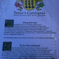 Photo taken at Teske's Germania by Tiffany M. on 8/22/2012