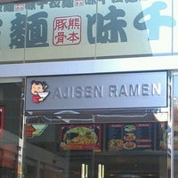 Photo taken at Ajisen Ramen by Nisha P. on 3/8/2012