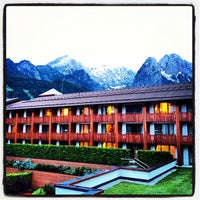 Photo taken at Edelweiss Lodge and Resort by Rob on 6/10/2012