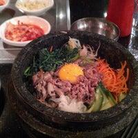 Photo taken at Shilla Korean Barbecue by Logan E. on 4/18/2012