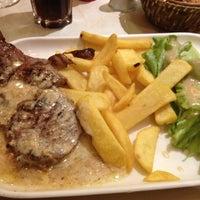 Photo taken at Café Le Saint-Lazare by ilove c. on 6/26/2012