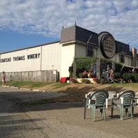 Photo taken at Chateau Thomas Winery by Chris M. on 8/3/2012