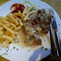 Photo taken at Schnitzel's by YC W. on 7/30/2012