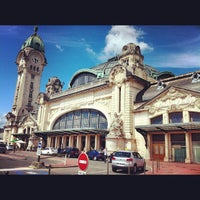 Photo taken at Gare SNCF de Limoges-Bénédictins by Poney R. on 7/20/2012