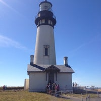 Photo taken at Yaquina Head Lighthouse by Straight A on 9/2/2012