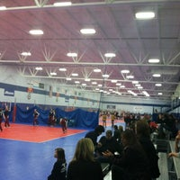 Photo taken at Great Lakes Volleyball Center by Chellie d. on 2/25/2012