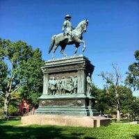 Photo taken at Logan Circle by Jon P. on 7/25/2012