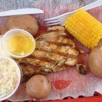 Photo taken at Dewey Destin's Seafood & Restaurant by Julie T. on 7/22/2012