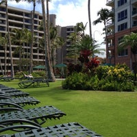 Photo taken at Marriott's Maui Ocean Club  - Lahaina & Napili Towers by Ayngelina B. on 5/6/2012