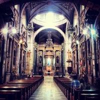 Photo taken at Templo de San Francisco by Edgar H. on 3/17/2012
