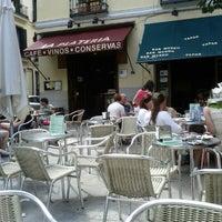 Photo taken at Bar La Plateria by Ignacio M. on 8/15/2012