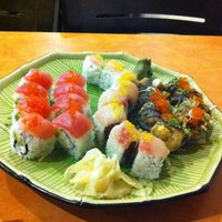 Photo taken at Yellowtail Japanese Bistro by Katie T. on 6/30/2012