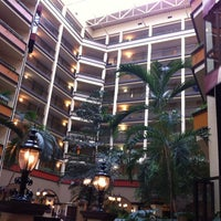 Photo taken at Embassy Suites by Hilton Nashville Airport by Bryan T. on 2/19/2012