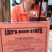 Photo taken at Lily's Seafood Grill & Brewery by Robin O. on 5/9/2012