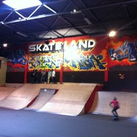 Photo taken at Skateland by Alex B. on 5/5/2012