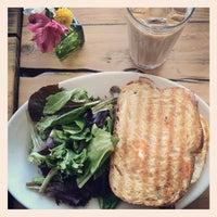 Photo taken at Oddfellows Cafe & Bar by Myra K. on 4/14/2012