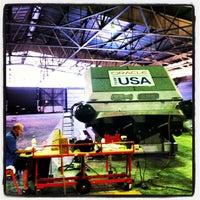 Photo taken at Oracle Team USA -Pier 80 by SeaDek M. on 8/21/2012