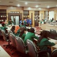 Photo taken at Fakultas Ilmu Komunikasi by Rico T. on 9/12/2012