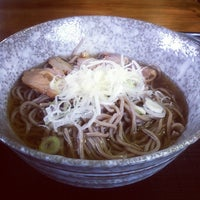 Photo taken at 冷たい肉そば専門店かほく by ohena on 6/13/2012