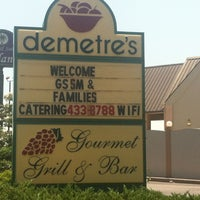 Photo taken at Demetre's Gourmet Grille by Lindsey S. on 7/28/2012