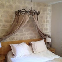 Photo taken at Le Pre Galoffre Hotel Nimes by Ben V. on 7/23/2012
