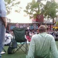Photo taken at Atlantic Station Central Lawn by Orange M. on 6/16/2012