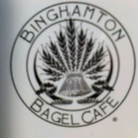 Photo taken at Binghamton Bagel Cafe by Leny R. on 3/1/2012