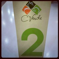 Photo taken at Cafeteria Verde Galleria by Andrew M. on 4/12/2012