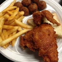 Photo taken at Gus' World Famous Fried Chicken by Adam H. on 7/23/2012