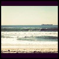 Photo taken at El Porto Beach by Eddie on 2/4/2012