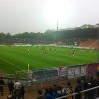 Photo taken at Grotenburg-Stadion by Tobias F. on 5/2/2012