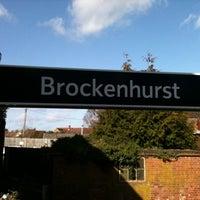 Photo taken at Brockenhurst Railway Station (BCU) by Jim K. on 3/3/2012