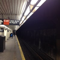 Photo taken at MTA Subway - Church Ave (B/Q) by Manuel B. on 3/4/2012