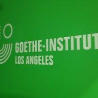 Photo taken at Goethe Institut by Stuart V. on 8/23/2012