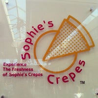 Photo taken at Sophie's Crepes by Tohru K. on 7/28/2012