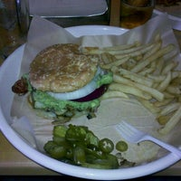 Photo taken at Monsoon Burger by Andre B. on 7/13/2012