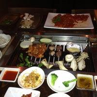 Photo taken at Wharo Korean BBQ by Alan A. on 3/2/2012
