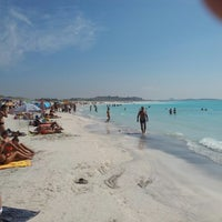 Photo taken at Spiagge Bianche by Fulvio V. on 9/9/2012