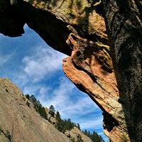 Photo taken at Colorado Chautauqua National Historic Landmark by Mana G. on 3/24/2012