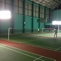 Photo taken at Pinehurst Badminton Court by ShyPon on 3/20/2012