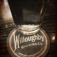 Photo taken at Willoughby Brewing Company by Christopher T. on 5/11/2012