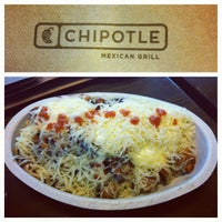 Photo taken at Chipotle Mexican Grill by Fatgirl H. on 8/16/2012