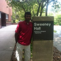 Photo taken at Sweeney Hall by Prashanth S. on 8/7/2012
